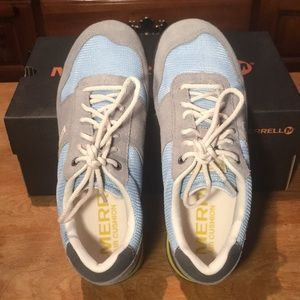 NEW MERRELL SOLO WILD DOVE/FORGET ME NOT SNEAKERS